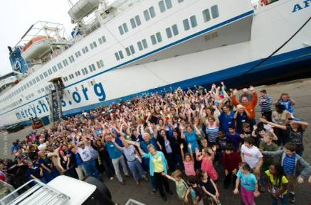Congo Mercy Ships Crew